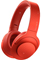 Sony Cinnabar Red h.ear on Wireless NC Headphones