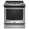 Maytag 6.4 Cu. Ft. Stainless Steel Front Control Electric Range