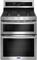 "Maytag 30"" Fingerprint Resistant Stainless Steel Double Oven Gas Range"