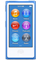 Apple 16GB Blue 8th Gen iPod Nano