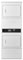 Maytag White Commercial Super Capacity Stack Dryers