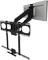 MantelMount Black Enhanced Pull Down TV Mount