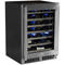"Marvel 24"" Professional Stainless Steel High-Efficiency Single Zone Wine Cellar"