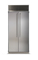 """Marvel 36"""" Professional Built-In Stainless Steel Side-By-Side Refrigerator"""
