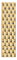 Michele 12mm Serein 12 Gold Plated Watch Band