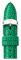 Michele 16mm Emerald Lizard Watch Band