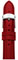 Michele 16mm Scarlet Patent Leather Watch Band