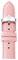 Michele 16mm Powder Pink Saffiano Leather Watch Band