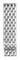 Michele 16mm Serein 16 7-Link Stainless Steel Bracelet