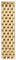 Michele 16mm Serein 16 7-Link Gold Watch Band