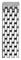 Michele 16mm Urban Mini 7-Link Stainless Steel Bracelet with Diamonds Watch Band