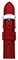 Michele 18mm Scarlet Patent Leather Watch Band