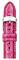 Michele 18mm Pink Flamingo Fashion Snake Watch Band