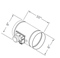 "Zephyr 6"" Universal Make-Up Air Damper Kit"