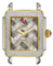 Michele Deco 16 Two Tone Cocoa Mosaic Womens Watch Head