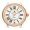 Michele Serein 16 Two-Tone Rose Gold Diamond Dial Womens Watch Head