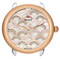 Michele Serein 16 Mosaic Two-Tone Rose Gold Beige Diamond Dial Womens Watch Head