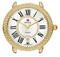 Michele Serein 16 Gold Diamond Dial Womens Watch Head