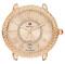 Michele Serein 16 Rose Gold Beige Diamond Dial Womens Watch Head