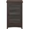 Bush Furniture Buena Vista Madison Cherry Audio Cabinet Bookcase