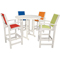 Hanover Nassau All-Weather 5-Piece Bar Set