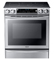 Samsung Stainless Steel 5.8 Cubic Foot Slide-In Electric Range