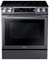 Samsung Black Stainless Steel Slide-In Electric Range