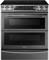Samsung Black Stainless Steel Flex Duo Slide-In Electric Range