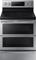 Samsung Stainless Steel Flex Duo Freestanding Electric Dual Door Range