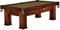 Brunswick Oakland 8 Ft. Chestnut And Sahara Billiard Table Package