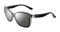 Oakley News Flash Black Shadow Womens Sunglasses