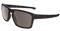 Oakley Silver Rectangle Matte Brown Tortoise Mens Sunglasses