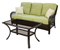 Hanover Orleans 2-Piece Outdoor Seating Patio Set