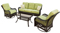 Hanover 4-Piece Outdoor Seating Patio Set