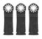 "Bosch Tools 1-1/4"" Multi-Tool 3 Pk. Bi-Metal Precision Plunge Cut Blade"