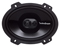 "Rockford Fosgate Punch Series 6"" x 8"" 3-Way Full Range Speaker"