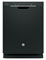 """GE Profile 24"""" Black Built-In Dishwasher"""