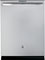 """GE Profile 24"""" Stainless Steel Built-In Dishwasher"""