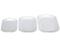 Le Creuset White Set of 3 Platters