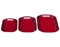 Le Creuset Cherry Set of 3 Platters