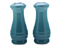 Le Creuset Caribbean Salt & Pepper Shakers