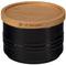Le Creuset 12 Oz. Black  Storage Canister
