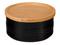 Le Creuset Black 23 Oz. Stoneware Storage Canister