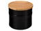 Le Creuset Black 1.5 Qt. Stoneware Storage Canister