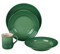 Le Creuset 4-Piece Fennel Dinnerware Set