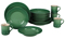 Le Creuset 16-Piece Fennel Dinnerware Set