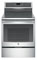 "GE Profile Series 30"" Stainless Steel Electric Induction and Convection Range"