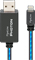 AudioQuest Pipeline Photon 3 Feet Lighted Lightning Cable