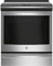 "GE Profile 30"" Stainless Steel Slide-In Induction Convection Range"