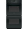 "GE Profile 27"" Black Built-In Double Wall Oven"